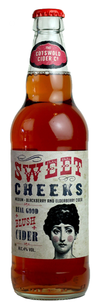 Cotswold Cider Co Sweet Cheeks 1 x 500ml