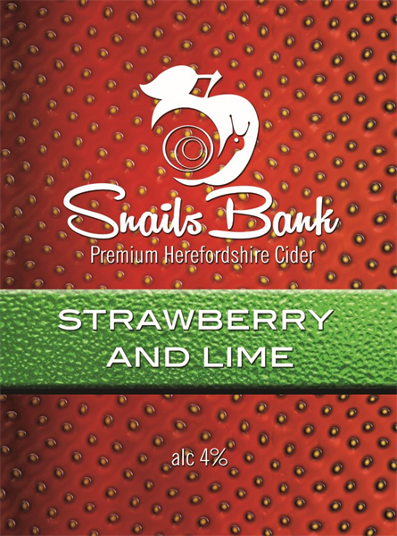 Strawberry & Lime Pump clip