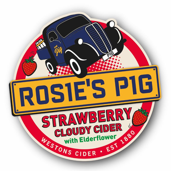 Westons Strawberry Pump Clip